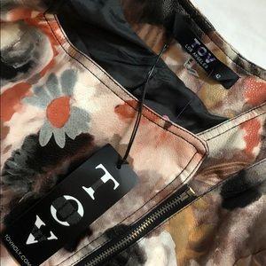 TOV Holy Jackets & Coats - NEW! TOV Los Angeles Floral Moto Jacket